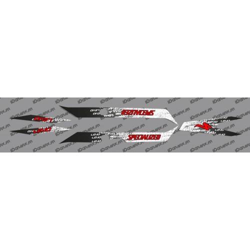 Kit deco LEVO Edició de la Llum (Vermell) - Especialitzada Turbo Levo -idgrafix