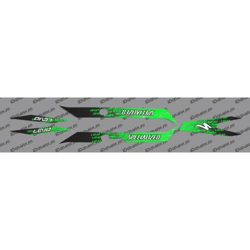 Kit deco LEVO Edició de Llum (Verd) - Especialitzada Turbo Levo -idgrafix