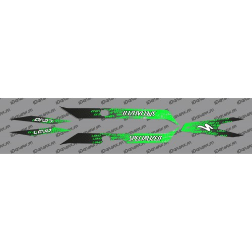 Kit deco LEVO Edition Light (Green) - Specialized Turbo Levo-idgrafix