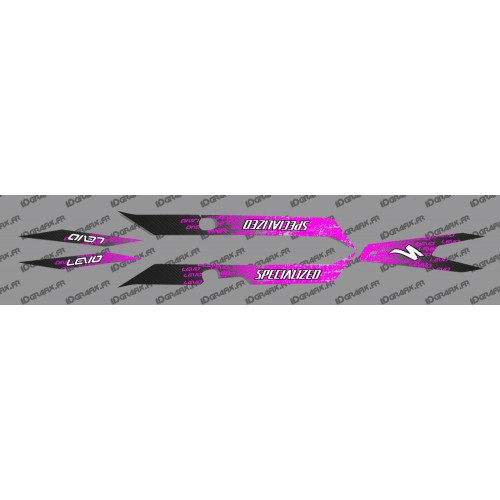 Kit deco LEVO Edition Light (Pink) - Specialized Turbo Levo-idgrafix