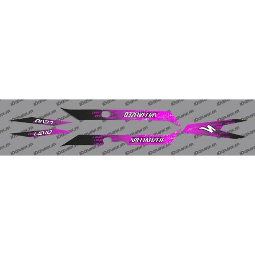 Kit deco LEVO Edizione di Luce (Rosa) - Specialized Turbo Levo -idgrafix
