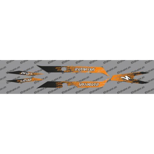 Kit deco LEVO Edizione di Luce (Arancione) - Specialized Turbo Levo -idgrafix