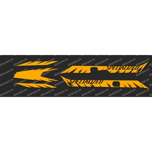 Kit déco Factory Edition Light (Orange Fluo)- Specialized Turbo Levo-idgrafix
