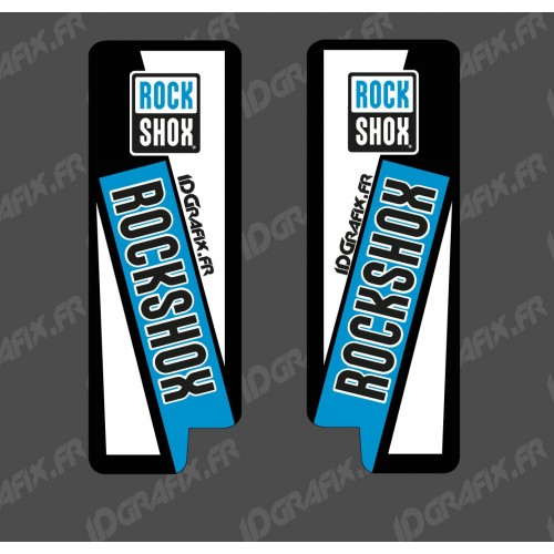 Stickers Protection Fork RockShox (Blue) - Specialized Turbo Levo - IDgrafix