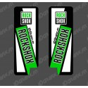 Stickers Protection Fork RockShox (Green) - Specialized Turbo Levo