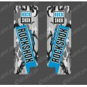 Stickers Protection Fourche RockShox Camo (Bleu) - Specialized Turbo Levo