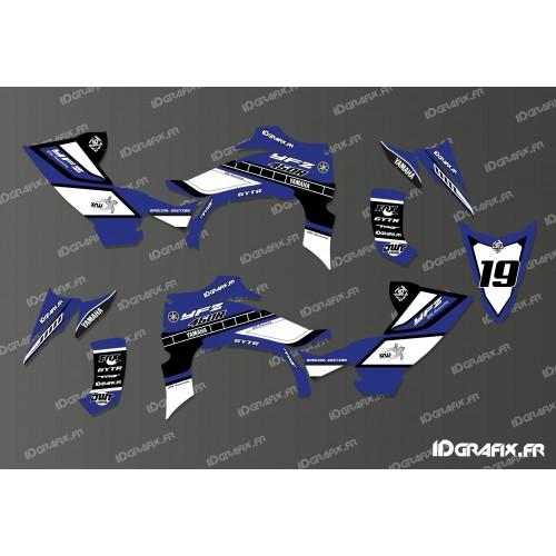 Kit de decoració 60è Yamaha Complet (de color Blau) - IDgrafix - Yamaha YFZ 450 / YFZ 450R -idgrafix