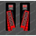 Stickers Protection Fork RockShox GP (Red) - Specialized Turbo Levo