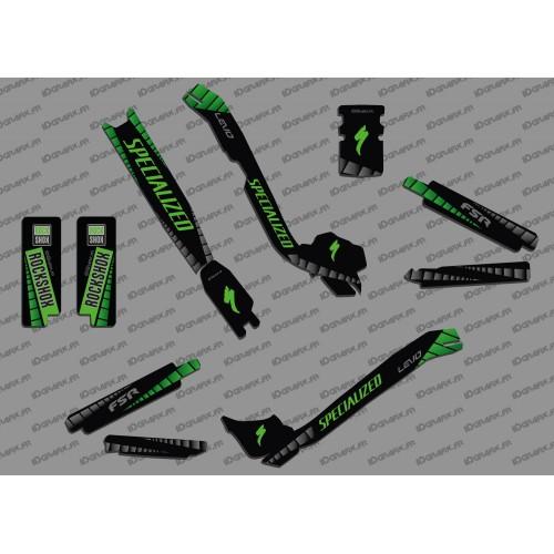 Kit déco GP Edition Full (Vert) - Specialized Turbo Levo-idgrafix