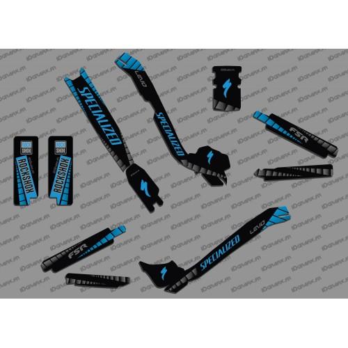 Kit deco GP Edició Completa (de color Blau) - Especialitzada Turbo Levo -idgrafix