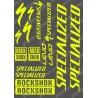 Board Sticker 21x30cm (Fluo Yellow) - Specialized Turbo Levo-idgrafix