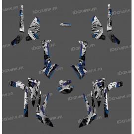 Kit décoration Brush Series (Gris) Medium - IDgrafix - Can Am Outlander (G2)