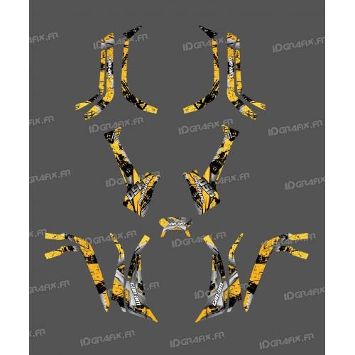 Kit Luce della decorazione a Pennello (Giallo) - IDgrafix - Can Am serie Outlander -idgrafix