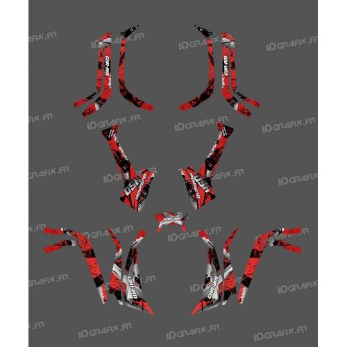 Kit de decoración de la Luz de la Brocha (Rojo) - IDgrafix - ¿Soy La serie Outlander -idgrafix