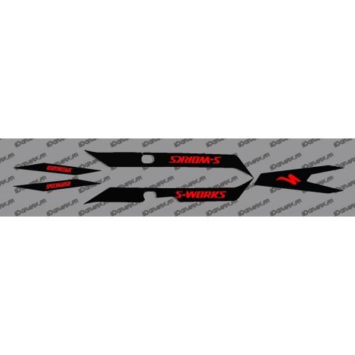 Kit deco Negre Llum (VERMELL)- Especialitzada Turbo Levo SWORKS -idgrafix