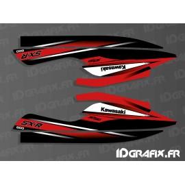 Kit décoration Réplica 2010 (rouge)pour Kawasaki SXR 800-idgrafix