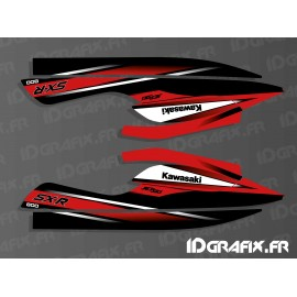Kit decoration Replica 2010 (red) for Kawasaki SXR 800-idgrafix
