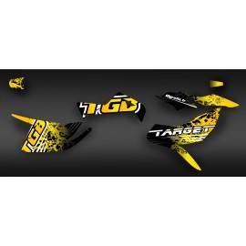 Kit de decoració TGB Edició Groc (Complet) - IDgrafix - TGB Objectiu -idgrafix
