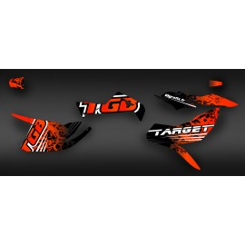 Kit decoration TGB Edition Red (Full) - IDgrafix - TGB Target-idgrafix