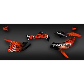 Kit decorazione TGB Edizione Rossa (Completa) - IDgrafix - TGB Target -idgrafix