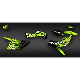 Kit de decoració TGB Edició Verd (Complet) - IDgrafix - TGB Objectiu -idgrafix