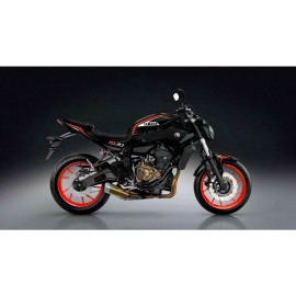 Kit décoration Night Red Edition - IDgrafix - Yamaha MT-07
