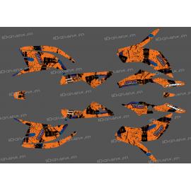 Kit dekor Brush Edition Orange (Full) - IDgrafix - TGB Target -idgrafix
