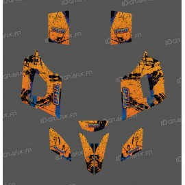 Kit décoration Brush Orange Edition - IDgrafix - TGB Blade-idgrafix