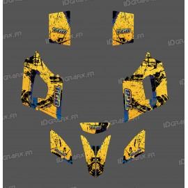 Kit de decoració Pinzell de color Groc Edició - IDgrafix - TGB Fulla -idgrafix