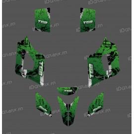 Kit de decoració Pinzell de color Verd Edició - IDgrafix - TGB Fulla -idgrafix
