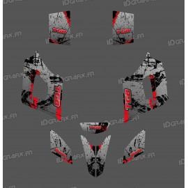 Kit de decoració Pinzell de color Gris Edició - IDgrafix - TGB Fulla -idgrafix