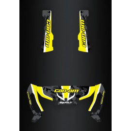 Kit decoration Camo Edition Yellow - IDgrafix - Can Am Traxter