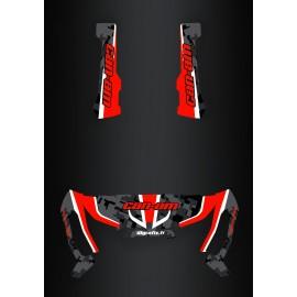 Kit dekor Camo Edition-Rot - IDgrafix - Can-Am Traxter -idgrafix