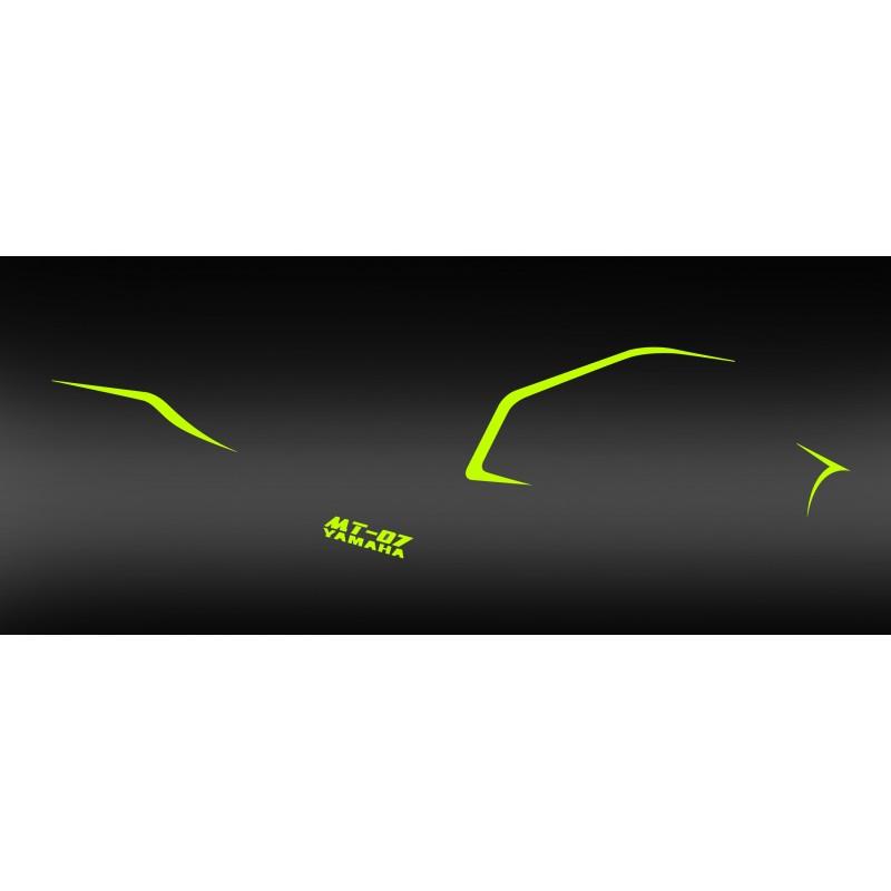 kit dekor line fluo gelb idgrafix yamaha mt 07 idgrafix. Black Bedroom Furniture Sets. Home Design Ideas