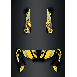 Kit decoration X team Edition Yellow - IDgrafix - Can Am Traxter