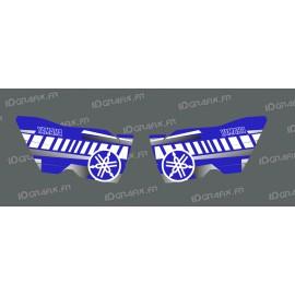 Kit déco Portes Vintage (Bleu/Blanc) - Yamaha YXZ 1000-idgrafix