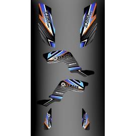 Kit decoration Factory Edition Blue - IDgrafix - Yamaha 700 Raptor - IDgrafix