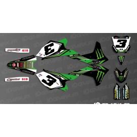 Kit déco Eli Tomac Réplica 2017 pour Kawasaki KX/KXF-idgrafix