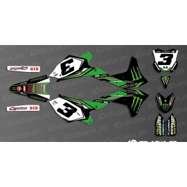 Kit deco Eli Tomac 2016 Replica for Kawasaki KX/KXF - IDgrafix