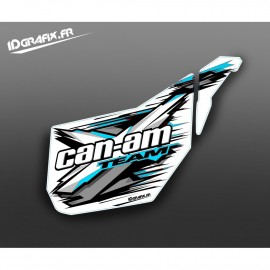 Kit décoration Porte Origine XTeam (Bleu Octane) - IDgrafix - Can Am