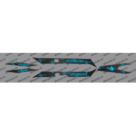 Kit deco CARBON Edition Luce (Blu)- Specialized Turbo Levo -idgrafix