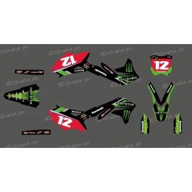 Kit deco Blake Baggett Réplica para Kawasaki KX/KXF -idgrafix