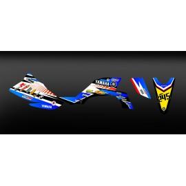 Kit deco 100 % Personalizzato per YAMAHA 450 YFZ - M. AUPETIT -idgrafix