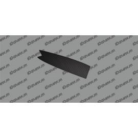 Adesivo protezione tubo superiore della Batteria - Carbonio-edizione - Specialized Turbo Levo -idgrafix
