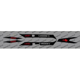 Kit déco Black Light (RED)- Specialized Turbo Levo - SWORKS