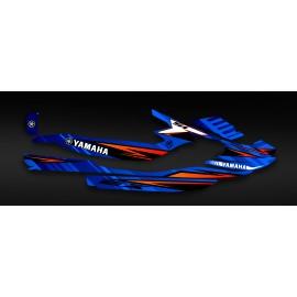 Kit deco Factory Edition (Blue) - Yamaha EX - IDgrafix