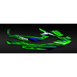Kit deco Factory Edition (Green) - Yamaha EX-idgrafix