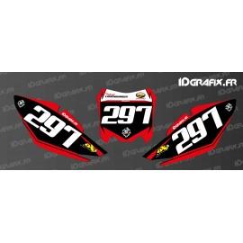 Kit de decoración de Número de la Placa de Fábrica Edición - Honda CR/CRF -idgrafix