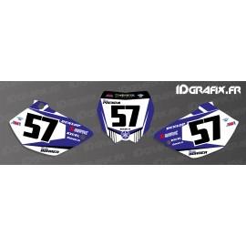 Kit décoration Plaque Numéro MX Edition - Yamaha YZ/YZF-idgrafix