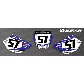 Kit de decoració Placa Nombre MX Edició - Yamaha YZ/YZF -idgrafix